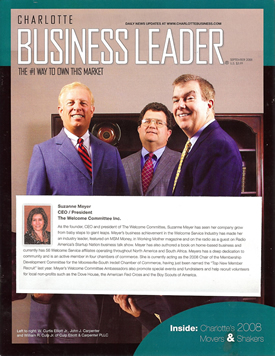 BusinessLeader Media honors 2008 Movers and Shakers.