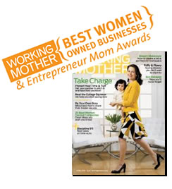 "Working Mother ""Best Women Owned Business"""